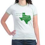 Grandpa's From Texas Jr. Ringer T-Shirt