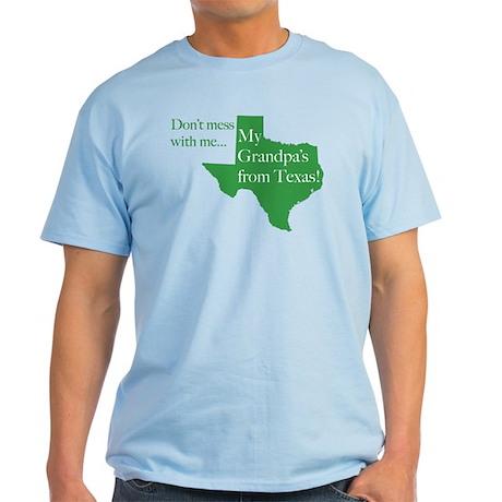 Grandpa's From Texas Light T-Shirt