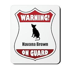 Havana On Guard Mousepad