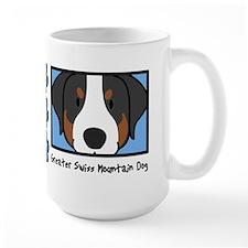 Anime Greater Swiss Mountain Dog Mug