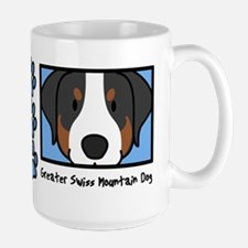 Anime Greater Swiss Mountain Dog Mug