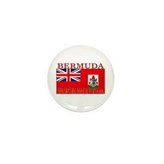 Bermuda Flag Mini Button (100 pack)