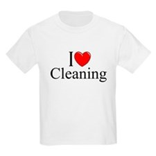 """I Love Cleaning"" T-Shirt"