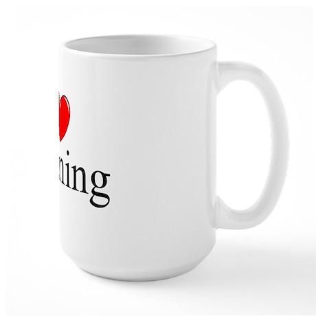 """""""I Love Cleaning"""" Large Mug"""