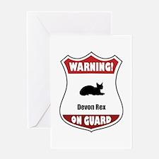 Devon On Guard Greeting Card