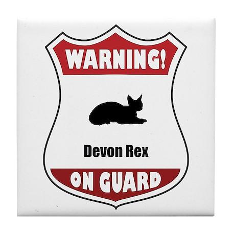 Devon On Guard Tile Coaster