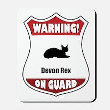 Devon On Guard Mousepad