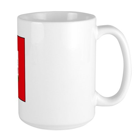 Bermuda Blank Flag Large Mug