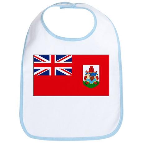 Bermuda Blank Flag Bib