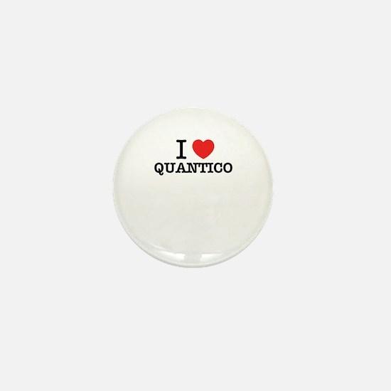 I Love QUANTICO Mini Button