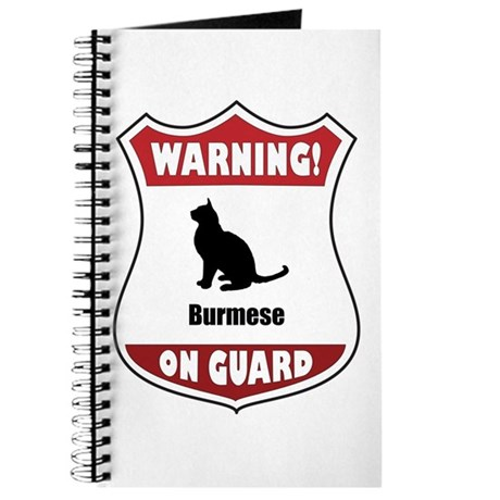 Burmese On Guard Journal