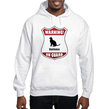Burmese On Guard Hooded Sweatshirt
