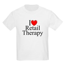 """""""I Love Retail Therapy"""" T-Shirt"""