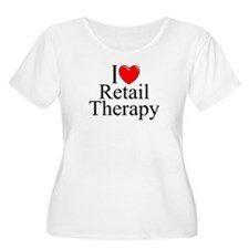 """I Love Retail Therapy"" T-Shirt"