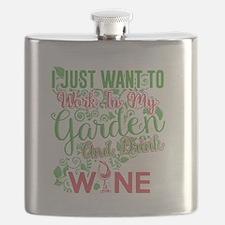 Cute Gardening Flask