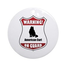 Curl On Guard Ornament (Round)