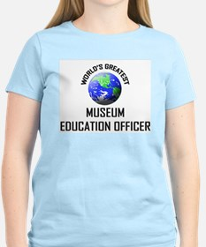 World's Greatest MUSEUM EDUCATION OFFICER T-Shirt