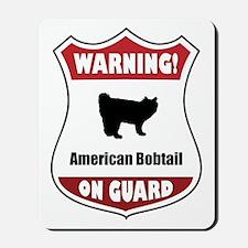 Bobtail On Guard Mousepad