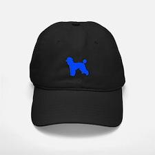 Poodle Blue 1C Baseball Hat