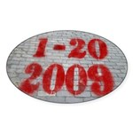 1-20-2009 (oval bumper sticker)
