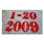1-20-09 Spray Paint Bumper Sticker