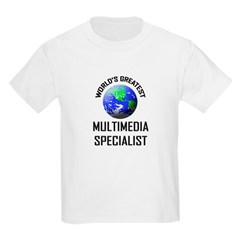 World's Greatest MULTIMEDIA SPECIALIST T-Shirt