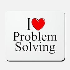 """I Love Problem Solving"" Mousepad"