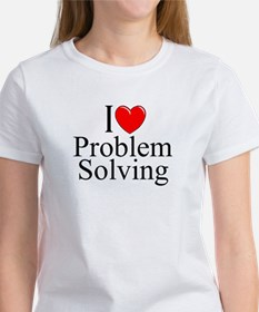 """I Love Problem Solving"" Women's T-Shirt"
