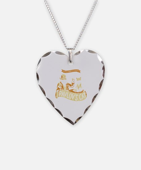 Unique Pavlov Necklace Heart Charm