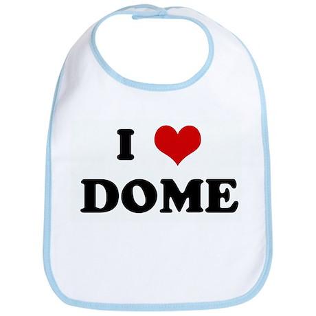 I Love DOME Bib