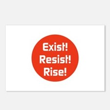 exist! Resist! Rise! Postcards (Package of 8)