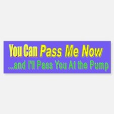 PassMeNow-BumperCar Car Sticker Bumper Car Car Sticker