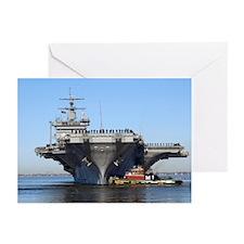 USS Enterprise CVN65 Greeting Cards (Pk of 10)
