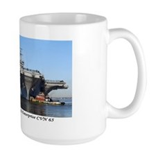 USS Enterprise CVN65 Mug