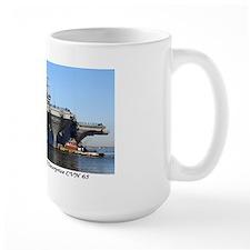 USS Enterprise CVN65 Mug