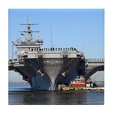 USS Enterprise CVN65 Tile Coaster