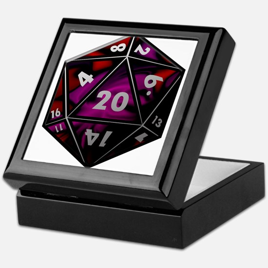 D20 color Keepsake Box