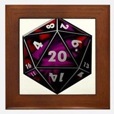D20 color Framed Tile