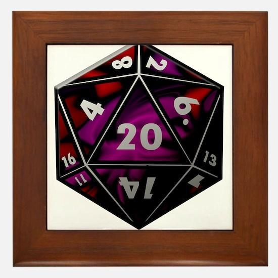 D20 color Framed Tile
