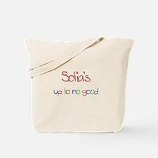 Sofia's Up To No Good Tote Bag