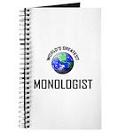 World's Greatest MONOLOGIST Journal