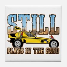 Still Plays in the Sand Dune Buggy Tile Coaster