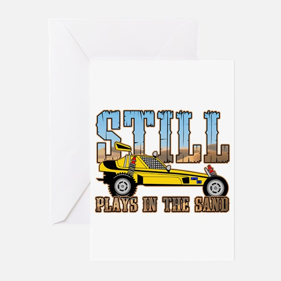 Still Plays in the Sand Dune Buggy Greeting Cards