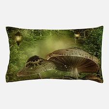 Enchanted Mushrooms Pillow Case
