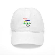 Irene Lives for Golf - Baseball Cap
