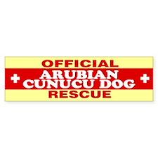 ARUBIAN CUNUCU DOG Bumper Bumper Sticker