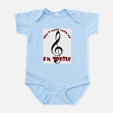 Mess With Me - I'm Treble Infant Bodysuit