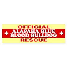 ALAPAHA BLUE BLOOD BULLDOG Bumper Car Sticker