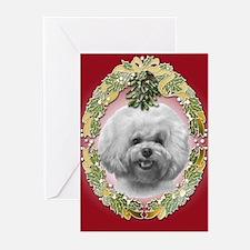 Bichon Frisé Christmas Greeting Cards (Pk of 20)