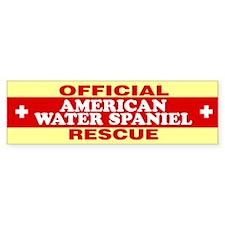 AMERICAN WATER SPANIEL Bumper Bumper Sticker